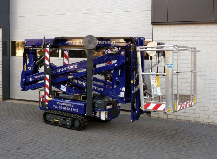 Spinhoogwerker 17 meter