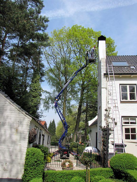 Huis schilderen met spinhoogwerker projecten for Woning schilderen
