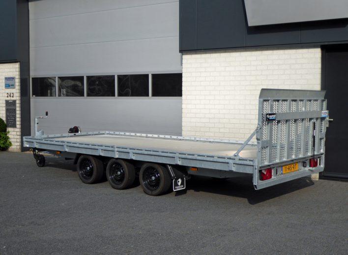Machinetransporter-protectrail-kantelbaar